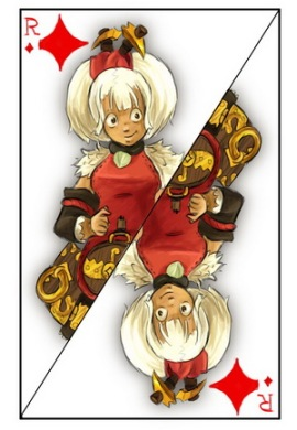 wakfu_playing_cards_king_of_diamonds_by_tite_pao