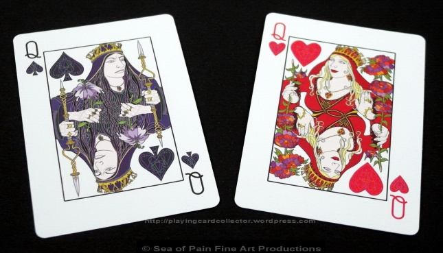 WhiteKnuckle_Playing_Cards_Queens_Spades_Hearts