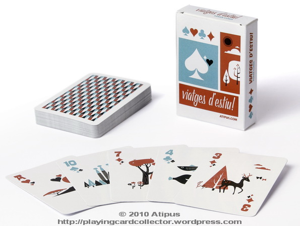 Atipus_Summer_Travel_Playing_Cards
