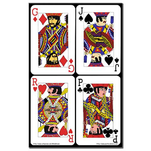 Beatlesque-Playing-Cards-Mini-Poster
