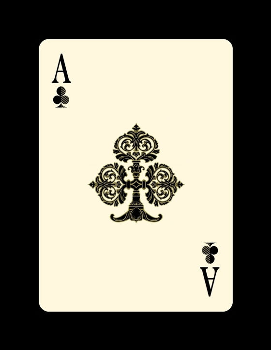 Bicycle-Venexiana-Playing-Cards-Ace-of-Clubs