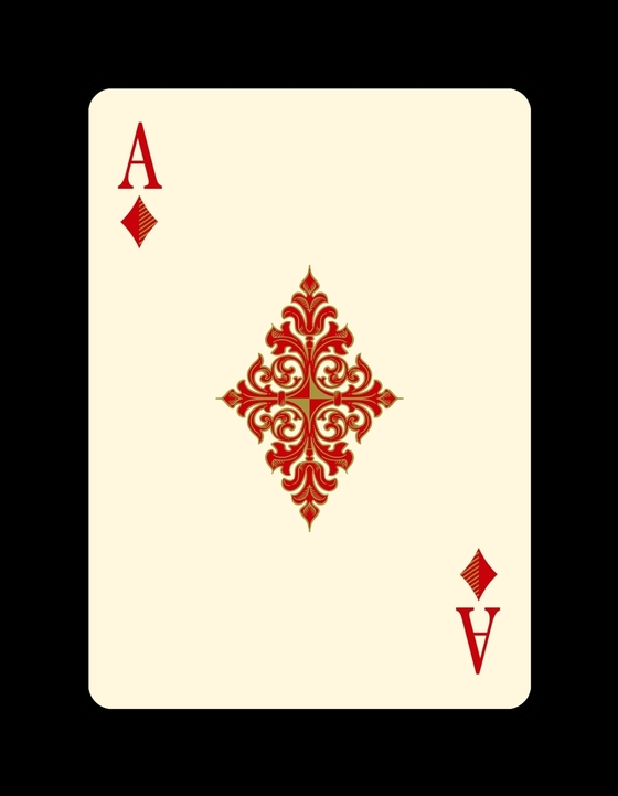 Bicycle-Venexiana-Playing-Cards-Ace-of-Diamonds