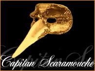 Capitan-Scaramouche-Mask