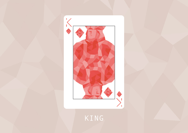 F_Marongiu_Playing_Cards_The_King_of_Diamonds