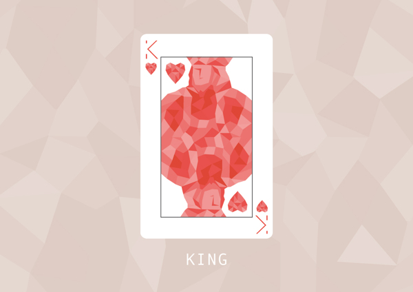 F_Marongiu_Playing_Cards_The_King_of_Hearts