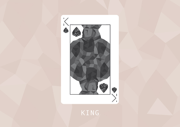 F_Marongiu_Playing_Cards_The_King_of_Spades