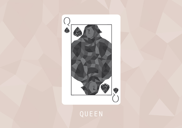 F_Marongiu_Playing_Cards_The_Queen_of_Spades