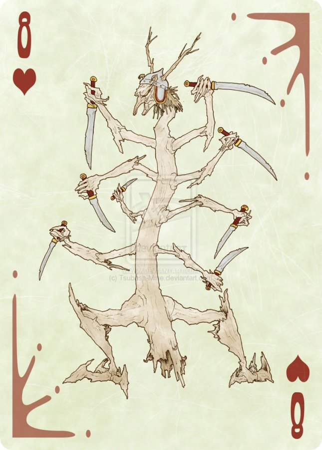 Fool-of-the-World-Playing-Cards-8-of-Hearts-by-Emily-Sampson