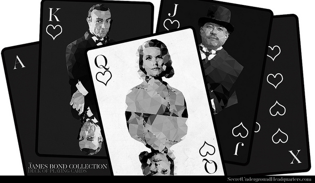 James-Bond-Playing-Cards-by-Joe-DiLeonardo