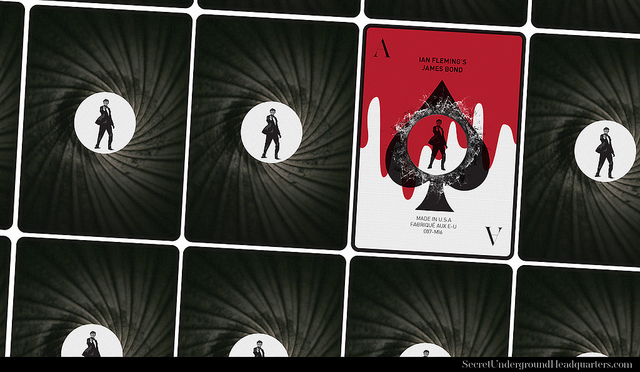 James-Bond-Playing-Cards-by-Joe-DiLeonardo-Back