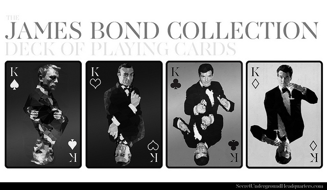 James-Bond-Playing-Cards-by-Joe-DiLeonardo-Kings