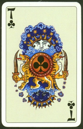 Kashmir_Playing_Cards_Ace_of_Clubs