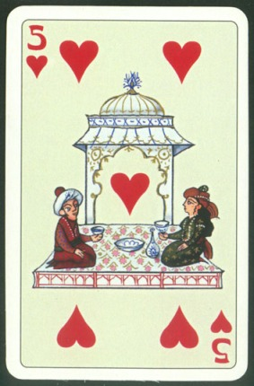 Kashmir_Playing_Cards_Five_of_Hearts