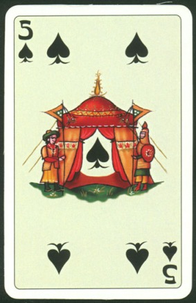 Kashmir_Playing_Cards_Five_of_Spades