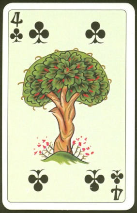 Kashmir_Playing_Cards_Four_of_Clubs