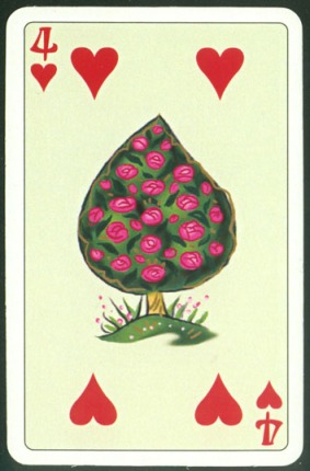 Kashmir_Playing_Cards_Four_of_Hearts