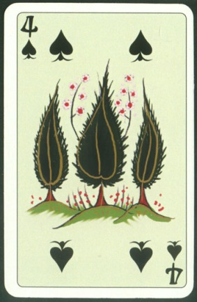 Kashmir_Playing_Cards_Four_of_Spades