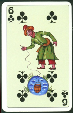 Kashmir_Playing_Cards_Six_of_Clubs