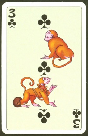 Kashmir_Playing_Cards_Three_of_Clubs