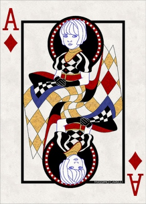 M-Carelli-Semi-Transformation-Playing-Cards-Ace-of-Diamonds