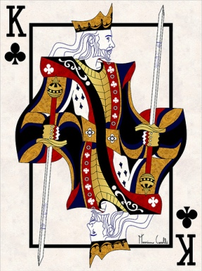 M-Carelli-Semi-Transformation-Playing-Cards-King-of-Clubs
