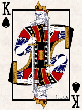 M-Carelli-Semi-Transformation-Playing-Cards-King-of-Spades