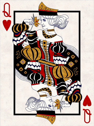 PlayingcardcollectorM Carelli Semi Transformation Playing Cards Ace Of SpadesM HeartsM