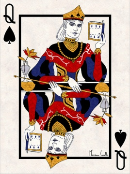 M-Carelli-Semi-Transformation-Playing-Cards-Queen-of-Spades