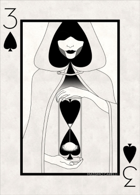 M_Carelli_Semi-Transformation_Playing_Cards_Three_of_Spades
