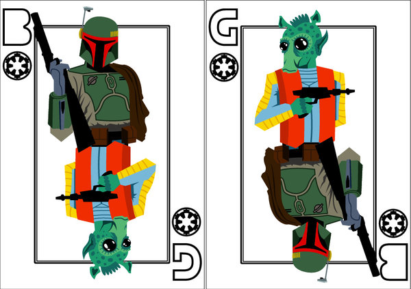 Playing-Cards-Greedo-and-Boba-Fett-by-Benjamin-Arce