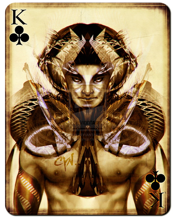 playing_cards_king_of_clubs_by_cynthia_franca