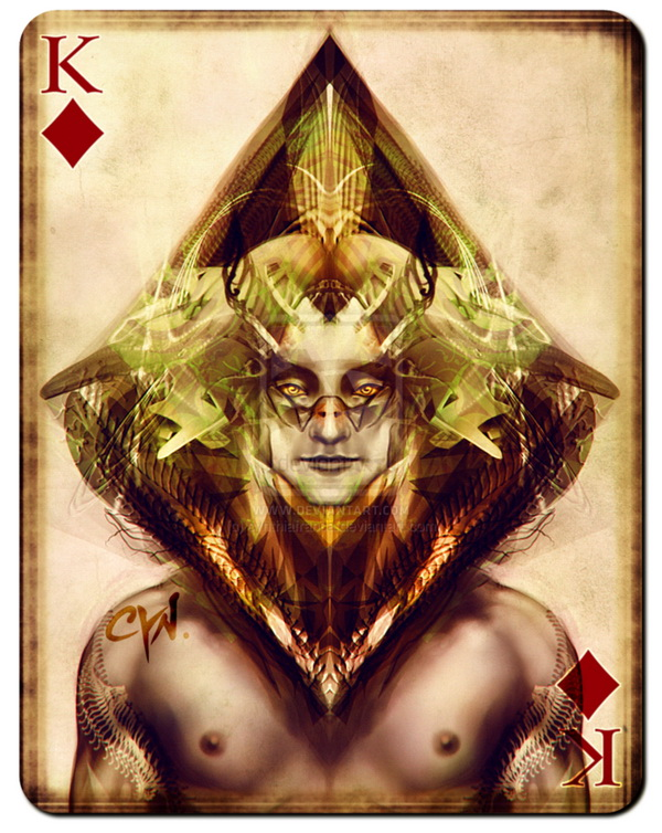 playing_cards_king_of_diamonds_by_cynthia_franca