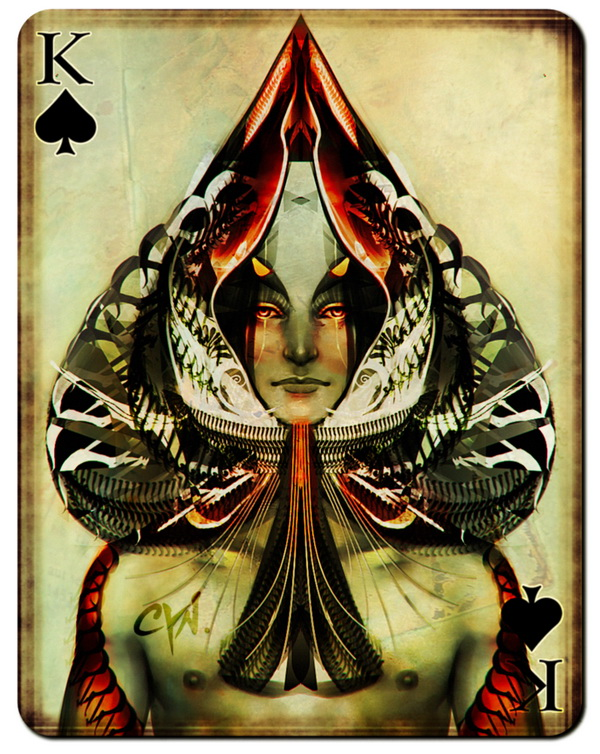 ... : Playing Cards by Cynthia França | PLAYING CARDS + ART = COLLECTING