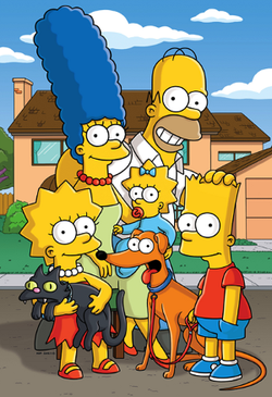 The_Simpsons_Family_Picture