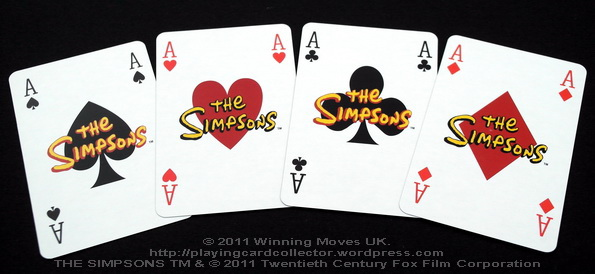 Waddingtons_The_Simpsons_Playing_Cards_Aces