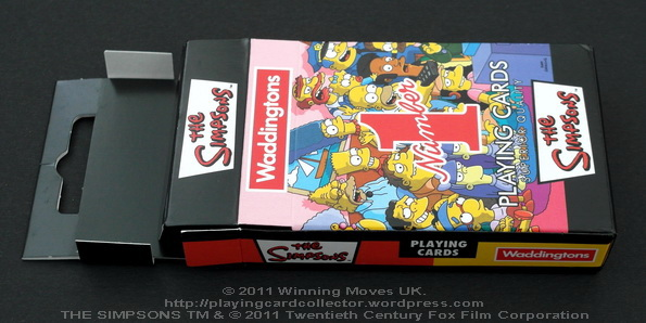 Waddingtons_The_Simpsons_Playing_Cards_Box_Flap