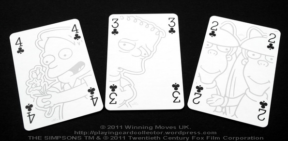 Waddingtons_The_Simpsons_Playing_Cards_Clubs_2_3_4