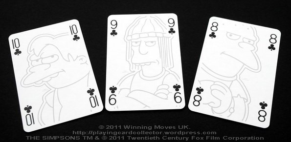 Waddingtons_The_Simpsons_Playing_Cards_Clubs_8_9_10