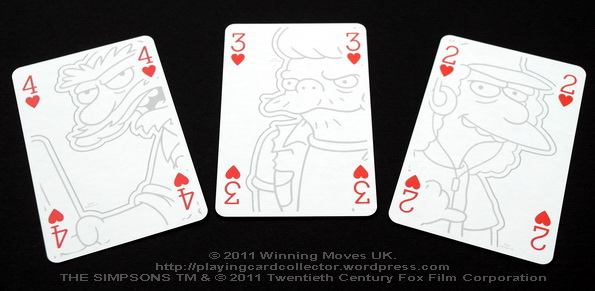 Waddingtons_The_Simpsons_Playing_Cards_Hearts_2_3_4