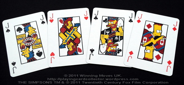 Waddingtons_The_Simpsons_Playing_Cards_Jacks