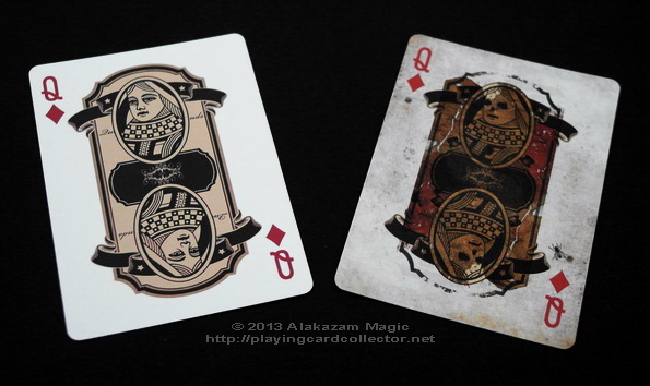 Bicycle-Dr-Jekyll-and-Mr-Hyde-Playing-Cards-Queen-of-Diamonds