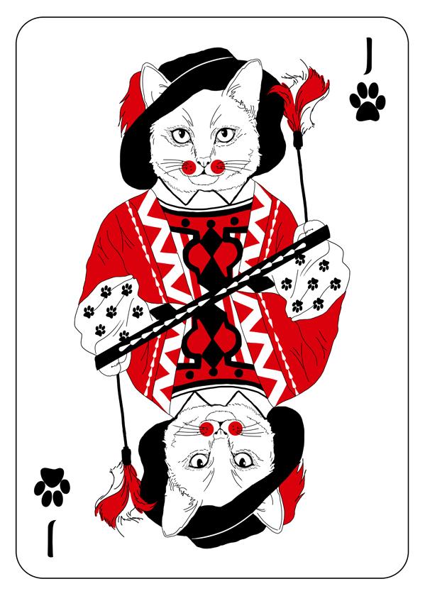 Cats_Playing_Cards_by_Katarzyna_Kalder_Jack
