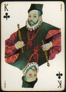 Espana_Imperial_Fournier_Playing_Cards_King_of_Clubs