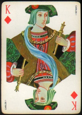 Espana_Imperial_Fournier_Playing_Cards_King_of_Diamonds