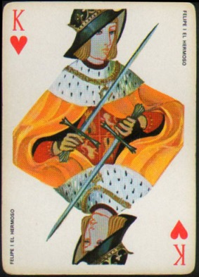 Espana_Imperial_Fournier_Playing_Cards_King_of_Hearts