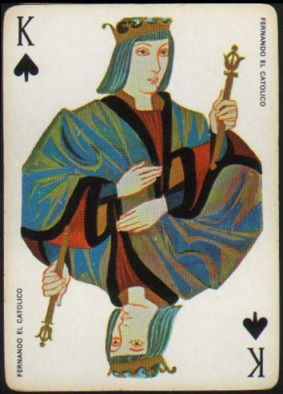 Espana_Imperial_Fournier_Playing_Cards_King_of_Spades