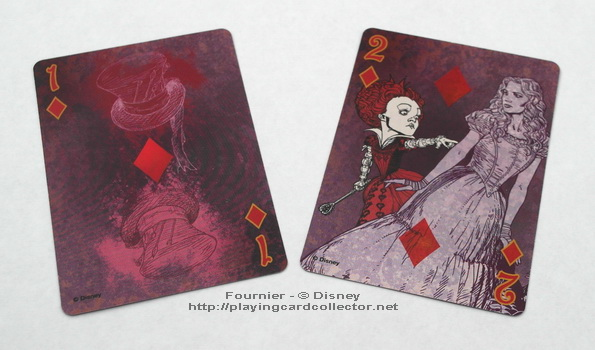 Fournier-Alice-in-Wonderland-Playing-Cards-Ace-of-Diamonds