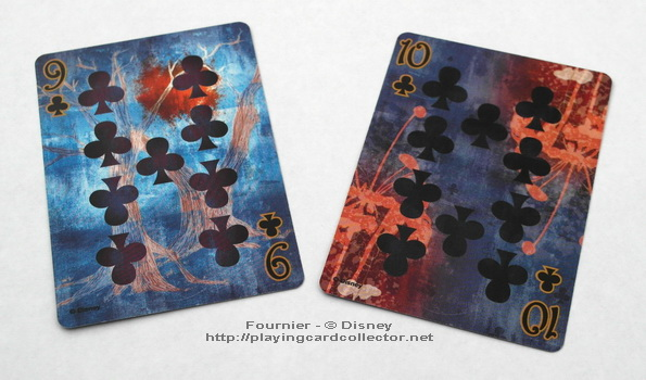 Fournier-Alice-in-Wonderland-Playing-Cards-Clubs-9-10