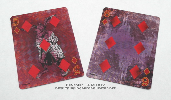 Fournier-Alice-in-Wonderland-Playing-Cards-Diamonds-5-6