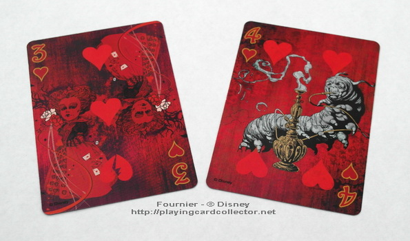 Fournier-Alice-in-Wonderland-Playing-Cards-Hearts-3-4